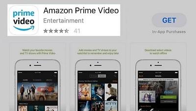 Amazon Prime Video App in App Store