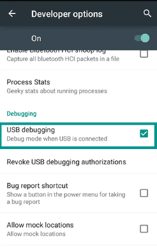 Enable Developer Options on Android Phone