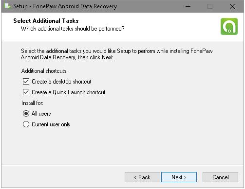 Select Additional Task
