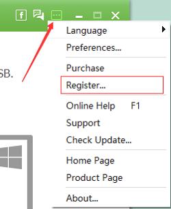 Enter Register Page