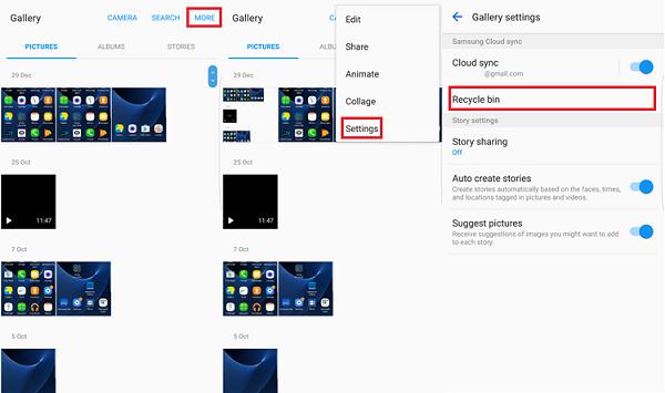 Samsung Recycle Bin