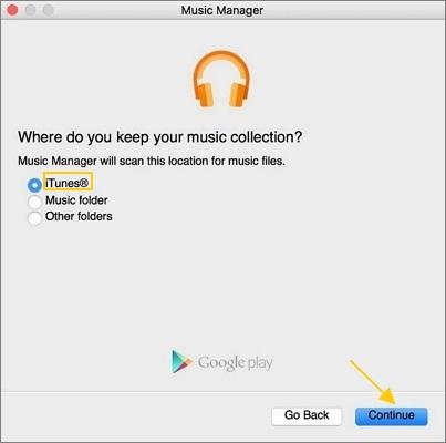 Upload iTunes Music
