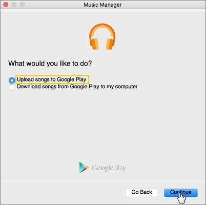 Upload Songs to Google Play