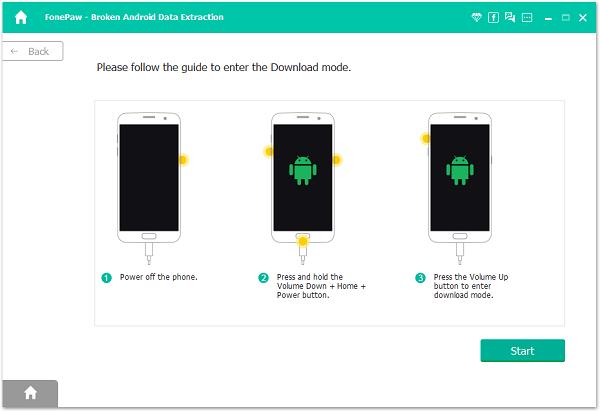 Broken Android Enter Download Mode