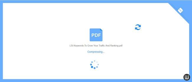 Compressing PDF