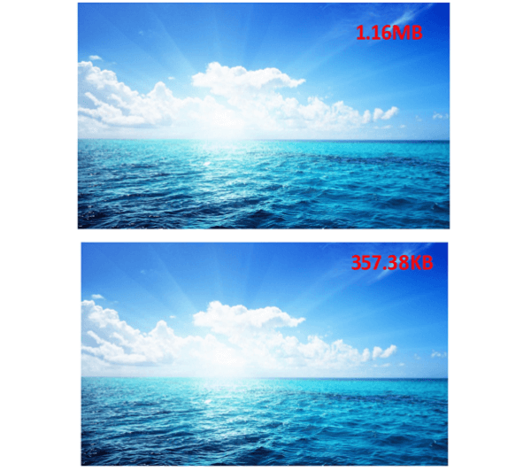 Comparison between Two Photos