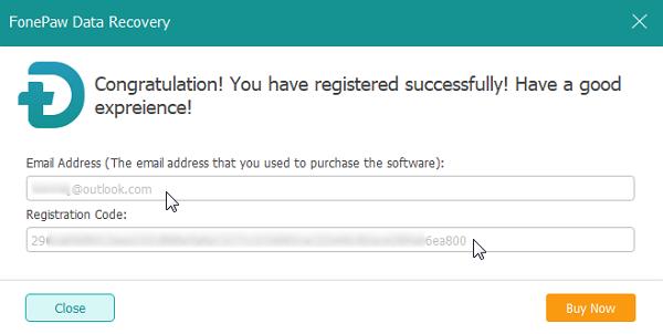 Finish Registering