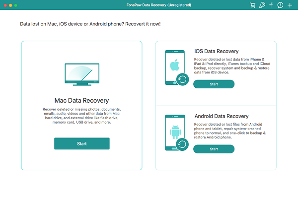 FonePaw Mac Data Recovery