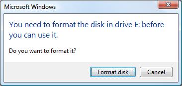 USB RawDrive