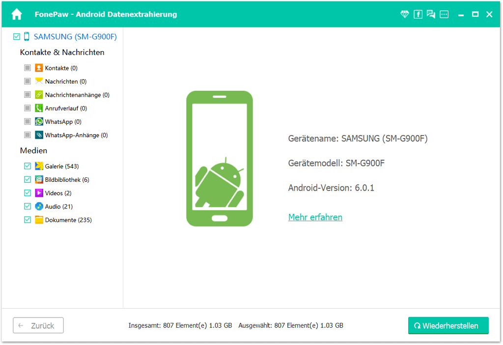 Handy kaputt WhatsApp Chatverlauf retten - So gehts