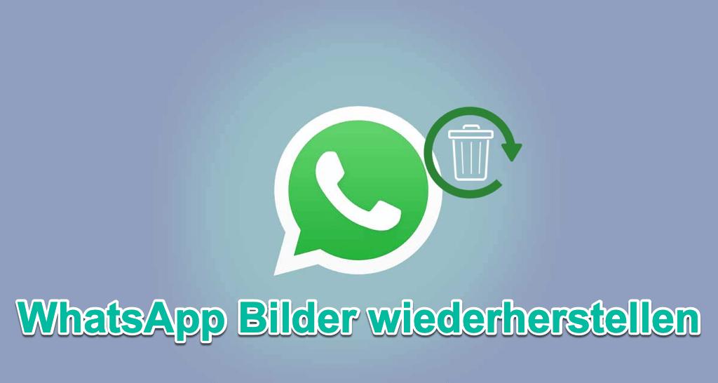 WhatsApp gelöschte Bilder wiederherstellen mit/ohne Backup