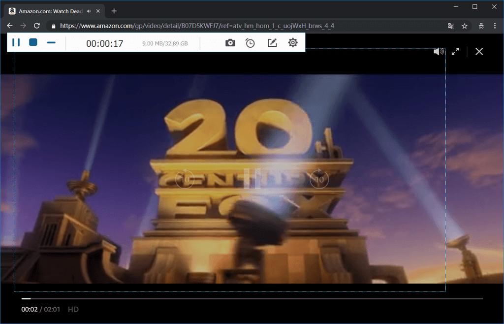 Amazon Prime Video aufnehmen
