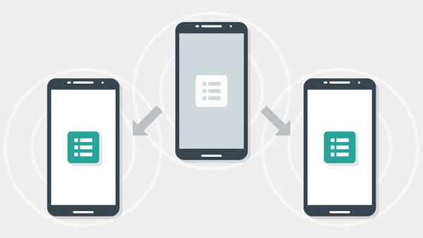 Samsung Datan auf Huawei übertragen per Google Nearby