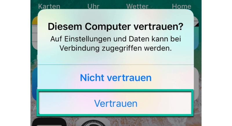 Diesem Computer vertrauen
