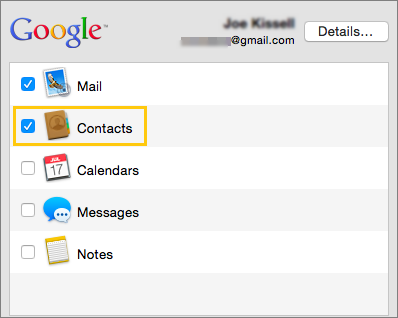 Sync Google Contacts In Google