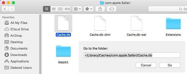 Delete Cache BD File