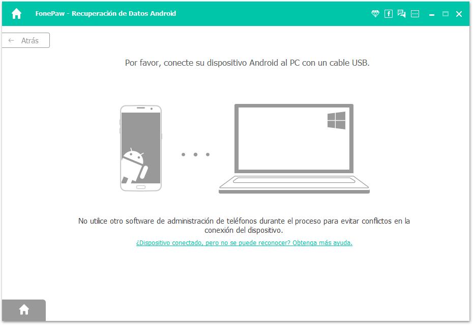 Conectar el dispositivo Huawei al ordenador