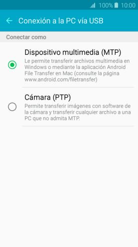 Transferir archivos multimedia Android a Windows
