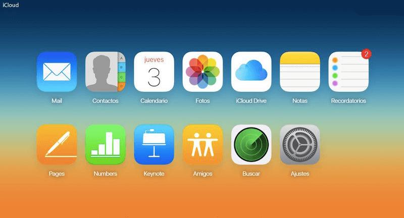 exportar calendario desde iCloud