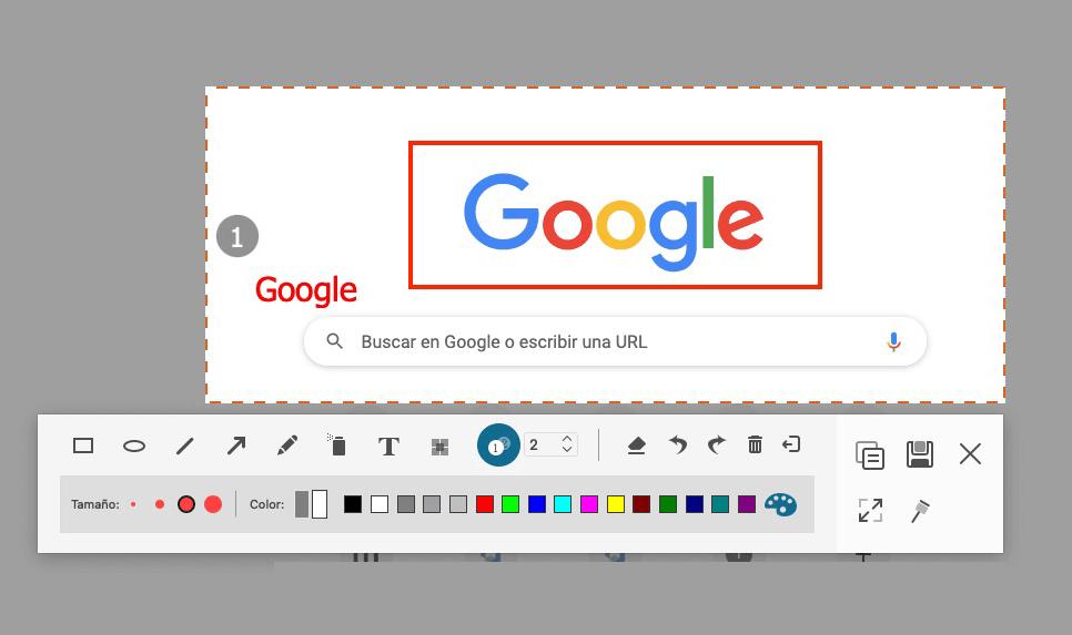 Agregar anotaciones en la pantalla de Mac