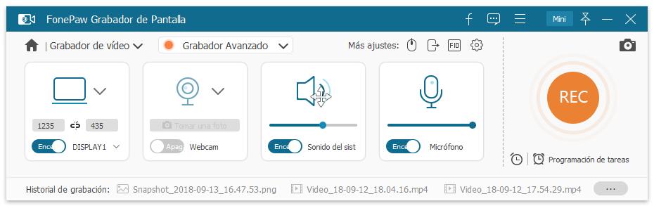 Grabar videollamada de Discord