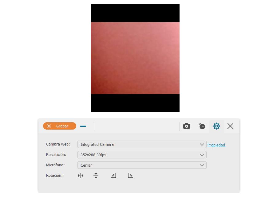 Grabar Webcam solamente con FonePaw