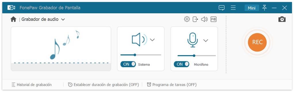 FonePaw Grabador de Audio