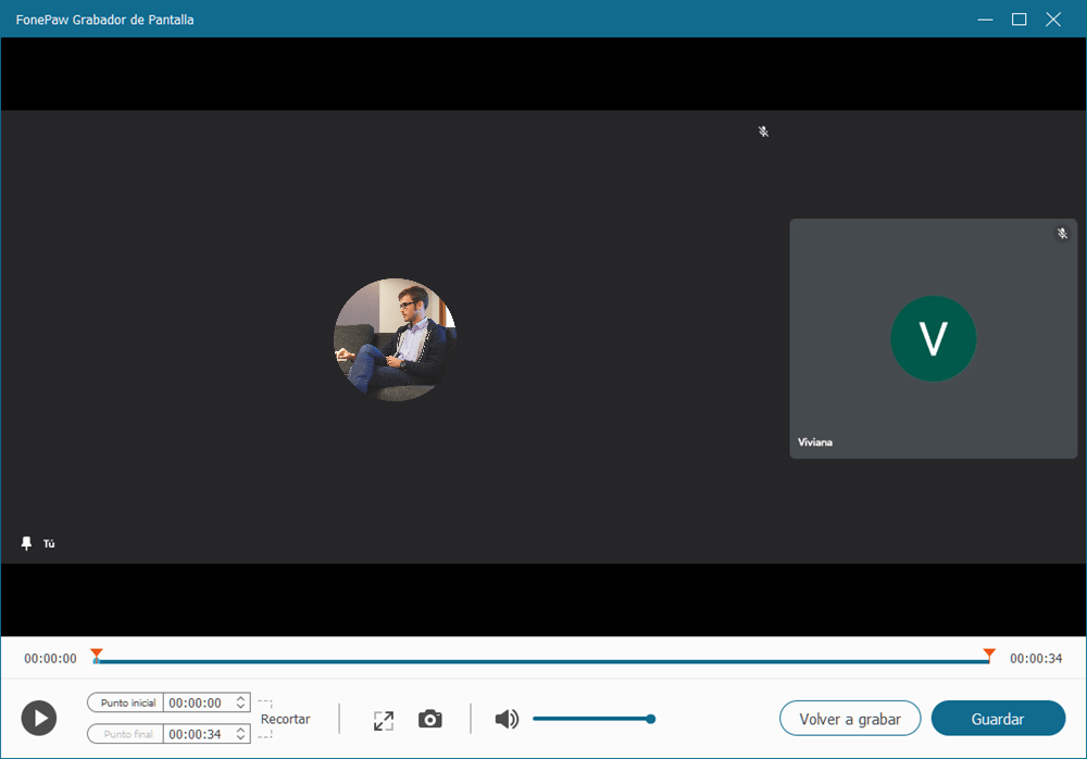 Revisar el video grabado de Google Meet
