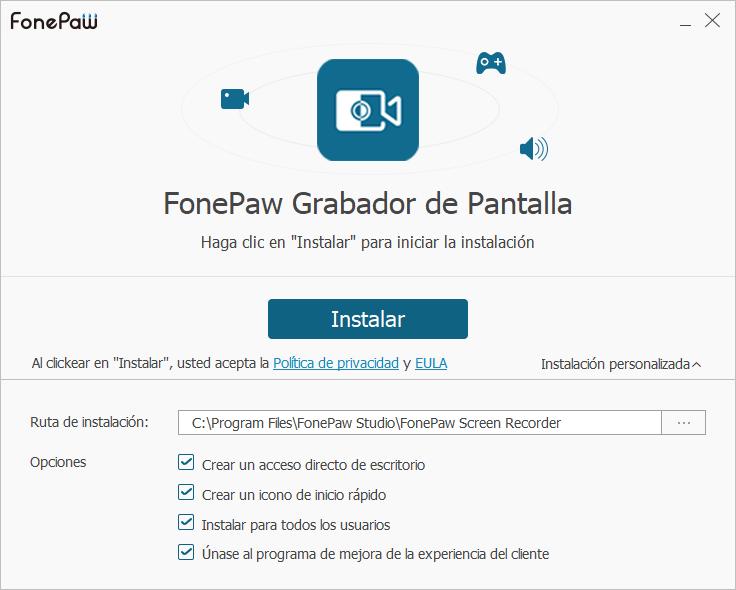 Cómo instalar el FonePaw