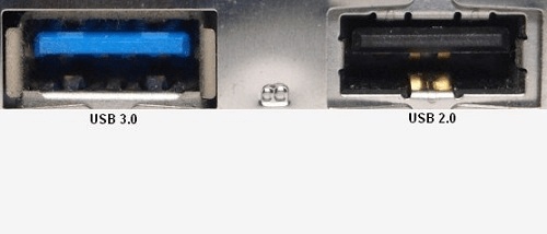 Essayez différents ports USB