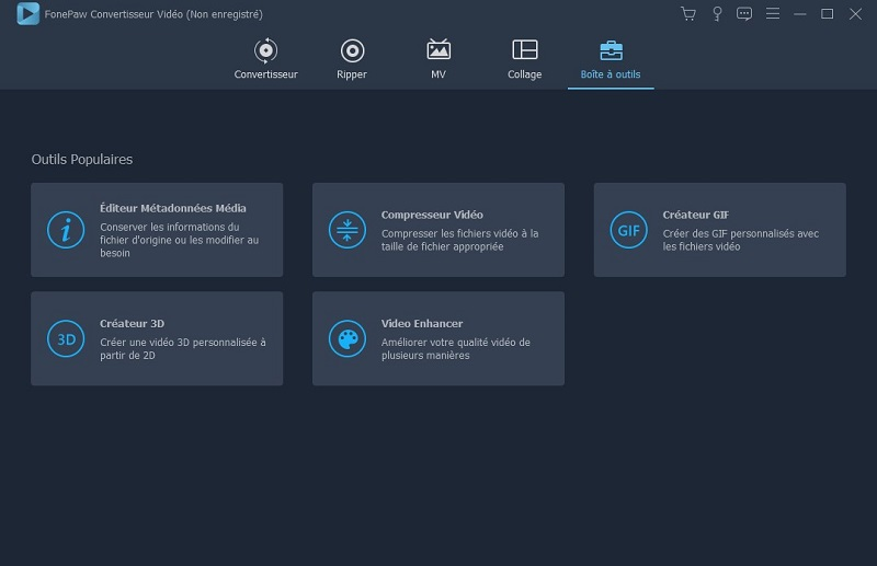 FonePaw convertisseur vidéo tout-en-un