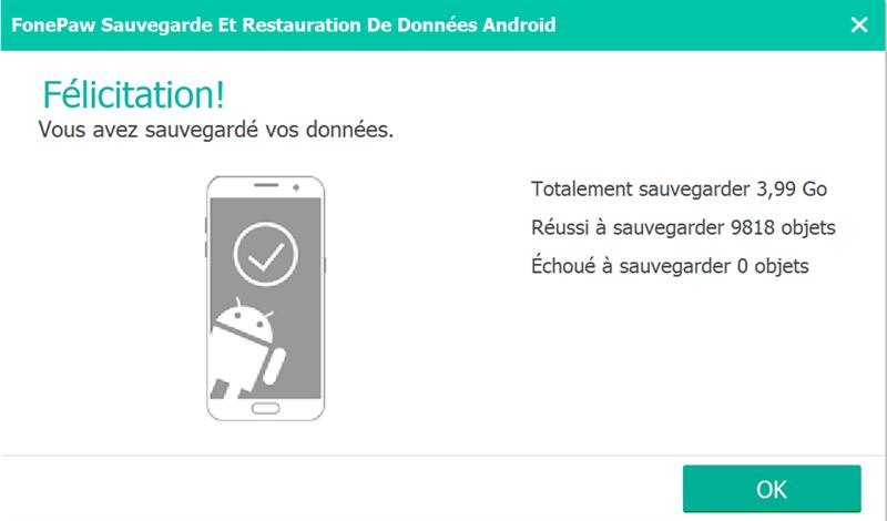 sauvegarde vidéos Android
