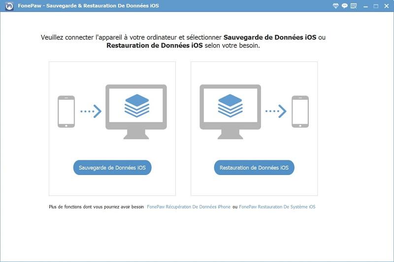 Sauvegarde & Restauration De Données iOS