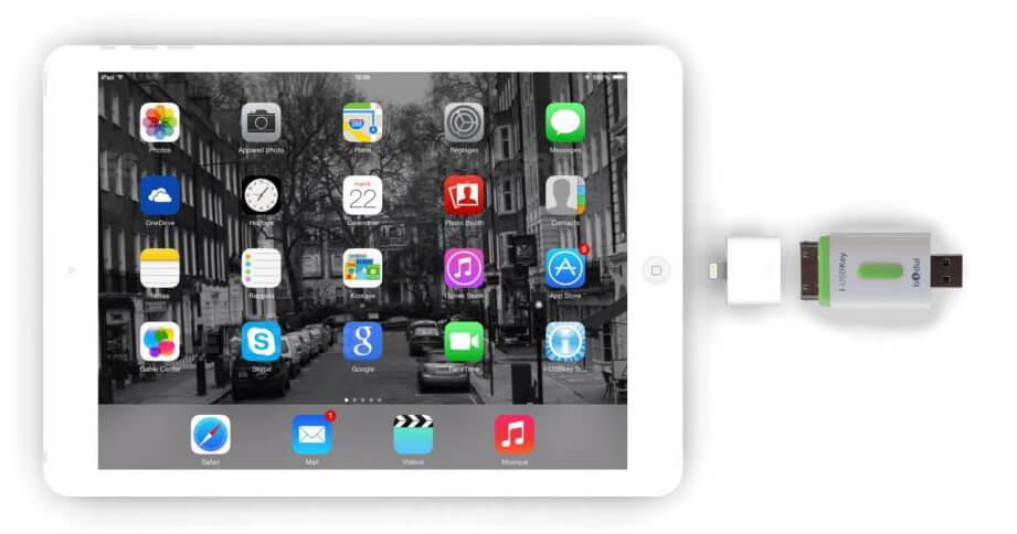 brancher une clé USB à un iPad