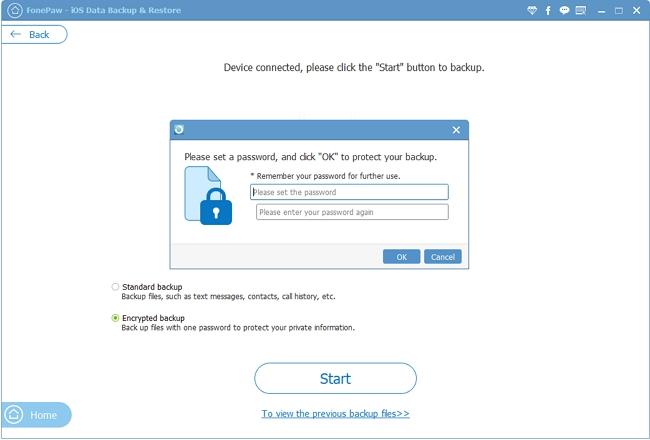 Encrypt A Bakcup File