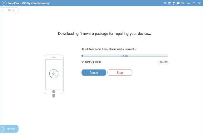Downloading iOS 12 Firmware