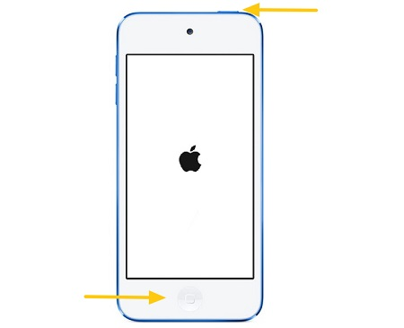 Soft Reset iPod Touch