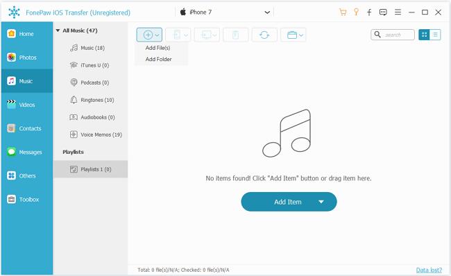 Put MP3 Files on iPhone
