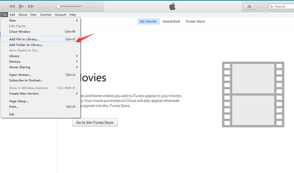 Add Videos to iTunes Library
