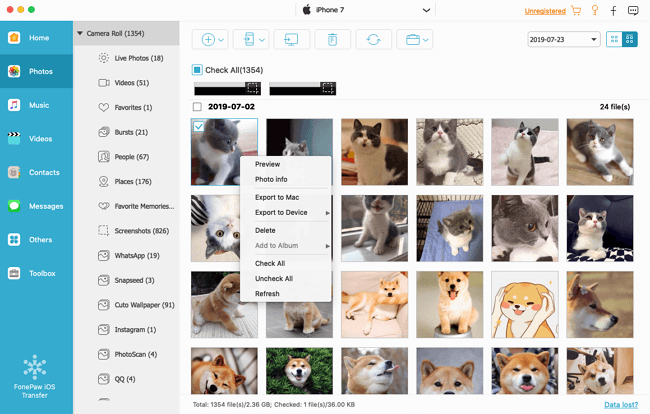 Import Photos from iPhone to Flash Drive on Mac
