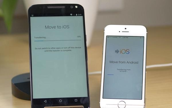 Move to iOS Stuck