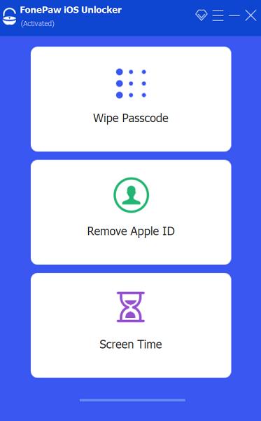 iOS Unlocker Homepage