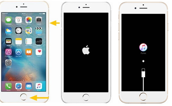 Put iPhone 6 in Recovery Mode