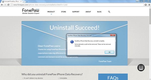 Successfully Remove