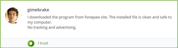 Website Security Checker Trust FonePaw