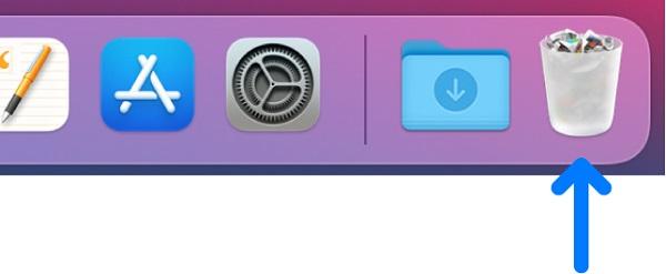 Mac ゴミ箱に直接復元
