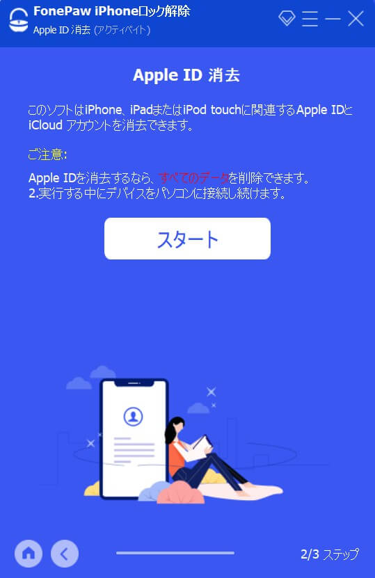 Apple ID消去