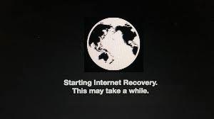 インターネットリカバリーモード OS再インストール