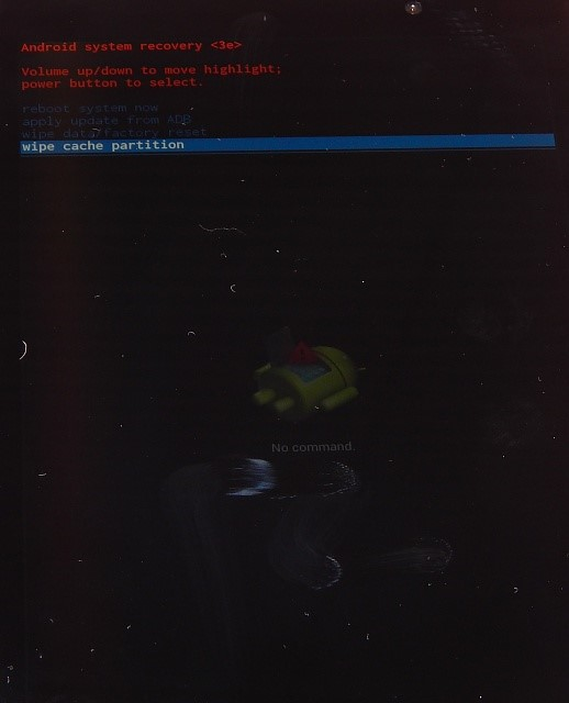Nexus 7がGoogleロゴの画面で文鎮化