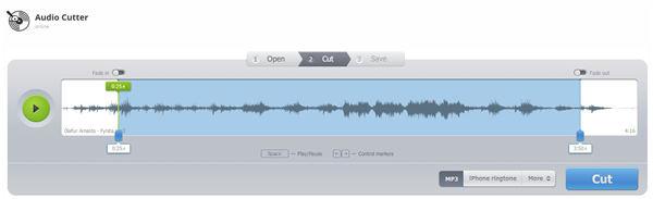 MP3ファイル カット